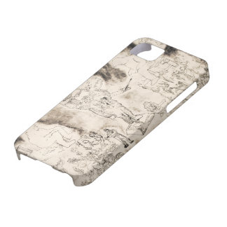 The Last Judgment Fine Art Etching iPhone Case