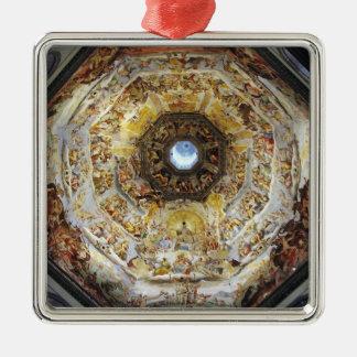 The Last Judgment Metal Ornament
