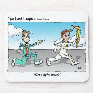 The Last Laugh - cartoon mousemat