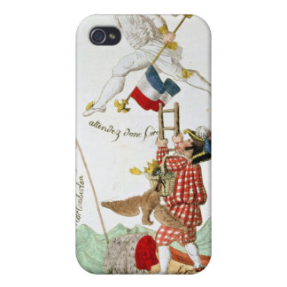The Last Leap of a Great Man, 1815 iPhone 4/4S Cases