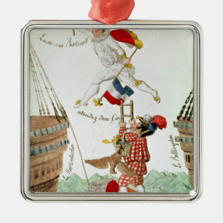 The Last Leap of a Great Man, 1815 Metal Ornament