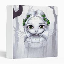 artsprojekt, art, fantasy, angel, angels, angel fairy, gothic angel, sad angel, winter, white, snow, leaf, leaves, sad, eye, eyes, big eye, big eyed, jasmine, becket-griffith, becket, griffith, jasmine becket-griffith, jasmin, strangeling, artist, goth, gothic, fairy, gothic fairy, faery, fairies, faerie, fairie, lowbrow, low brow, big eyes, strangling, fantasy art, Fichário com design gráfico personalizado