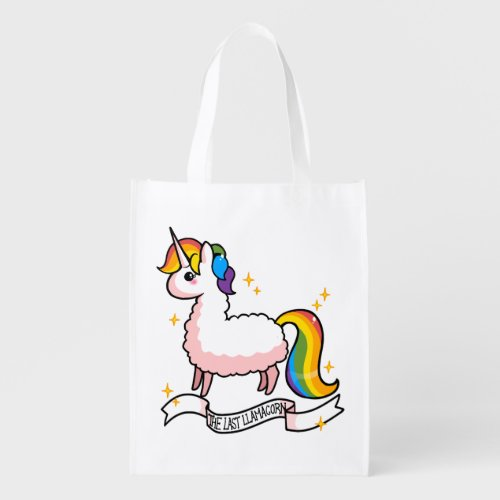 The Last Llamacorn Grocery Bag