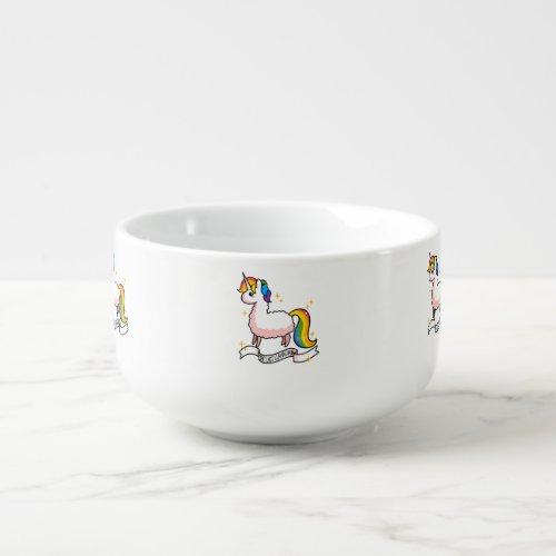 The Last Llamacorn Soup Mug