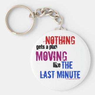 The Last Minute Keychain