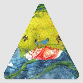 the last minute shark triangle stickers
