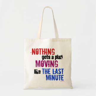 The Last Minute Tote Bag