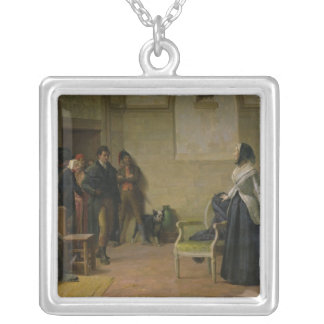 The Last Morning of Marie-Antoinette Silver Plated Necklace