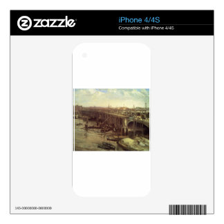 The Last of Old Westminster James McNeill Whistler Decal For iPhone 4