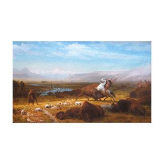 The Last of the Buffalo Canvas Print