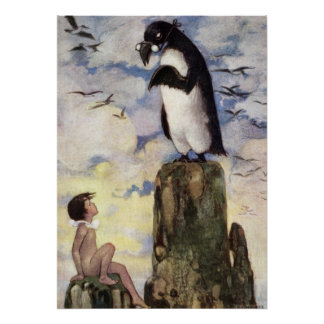 The last of the Gairfowl by Jessie Willcox Smith Poster