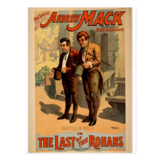 The Last of the Rohan s Bristle and kelly Postcard