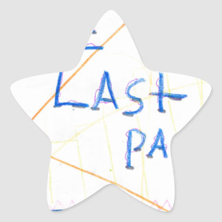 The Last Page Star Sticker