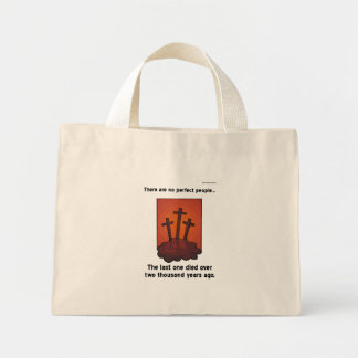 The Last Perfect Person Canvas Bags