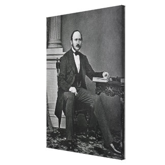 The Last Photograph of the Prince Consort Canvas Print
