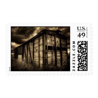 The Last Railcar Postage