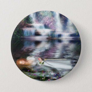 The Last Repose of Ophelia Pinback Button
