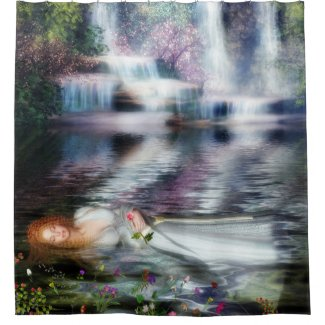 The Last Repose of Ophelia Shower Curtain
