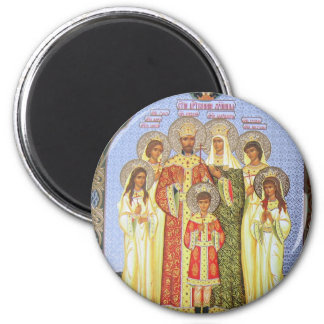 THE  LAST RUSSIAN TZAR AND FAMILY MAGNET