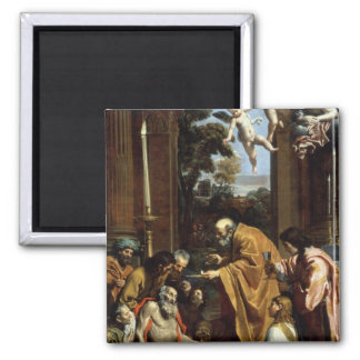 The Last Sacrament of St. Jerome, 1614 Magnet
