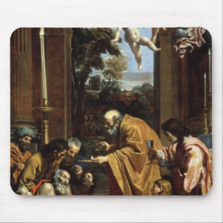 The Last Sacrament of St. Jerome, 1614 Mouse Pad
