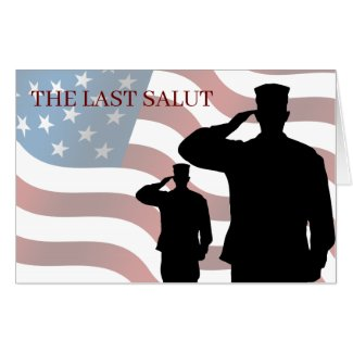 THE LAST SALUT CARD