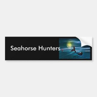 The Last Seahorse Car Bumper Sticker