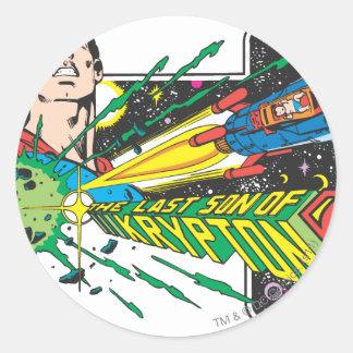 The Last Son of Krypton 2 Round Sticker