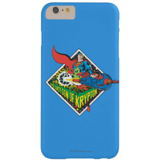 The Last Son of Krypton Barely There iPhone 6 Plus Case