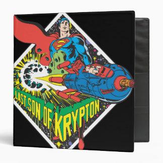 The Last Son of Krypton Vinyl Binder