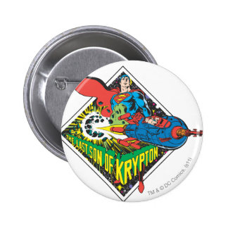 The Last Son of Krypton Pinback Button