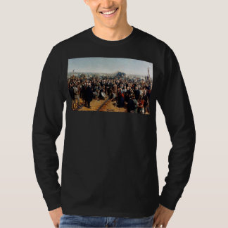The Last Spike by Thomas Hill - Dated 1881 T-shirt