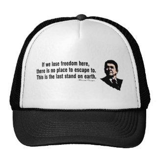 The Last Stand On Earth Trucker Hats