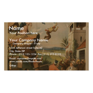 The Last Stroke Business Card