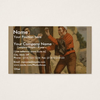 The Last Stroke, 'Cuba's Fight for Freedom' Business Card