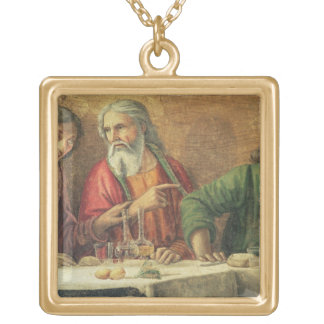 The Last Supper, 1480 (fresco) (detail of 61997) 2 Gold Plated Necklace
