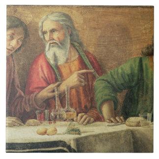 The Last Supper, 1480 (fresco) (detail of 61997) 2 Tile