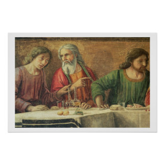 The Last Supper, 1480 (fresco) (detail of 61997) Poster
