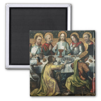The Last Supper, 1482 2 Inch Square Magnet