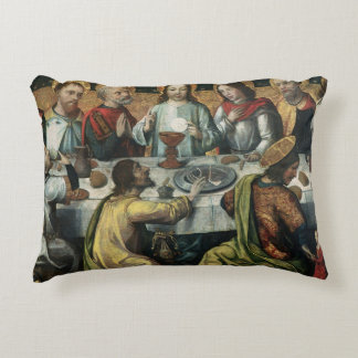 The Last Supper, 1482 Accent Pillow