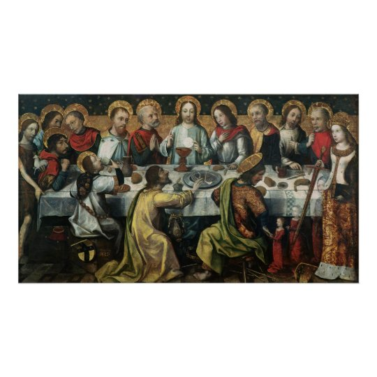 The Last Supper, 1482 Poster