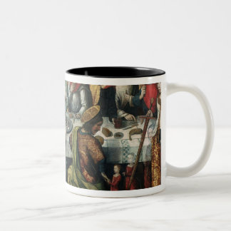 The Last Supper, 1482 Two-Tone Coffee Mug