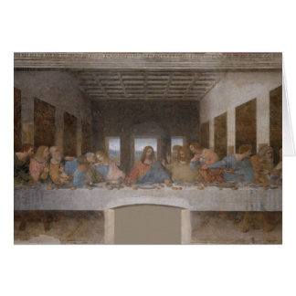 The Last Supper (1495-1498) Card