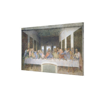 The Last Supper, 1495-97 2 Canvas Print