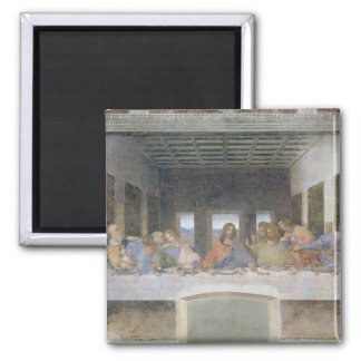 The Last Supper, 1495-97 2 2 Inch Square Magnet