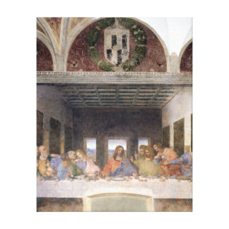 The Last Supper, 1495-97 3 Canvas Print