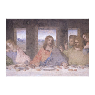The Last Supper, 1495-97 Canvas Print