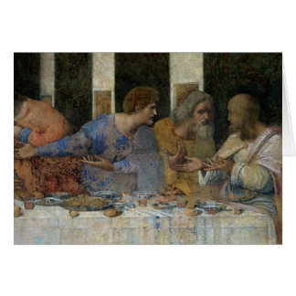 The Last Supper, 1495-97 Card
