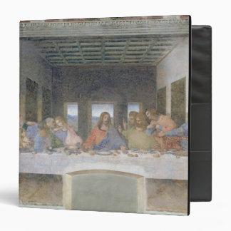 The Last Supper, 1495-97 (fresco) 3 Ring Binder