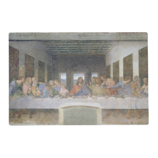 The Last Supper, 1495-97 (fresco) Laminated Placemat